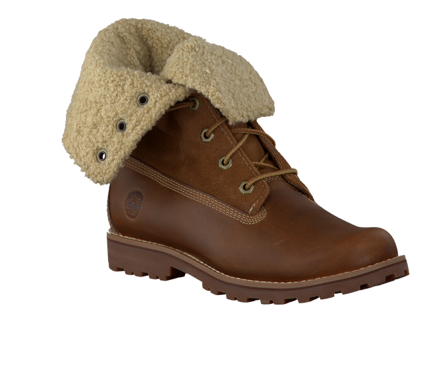 Bruine TIMBERLAND Enkelboots AUTHENTICS SHEARLING BOOT  - large
