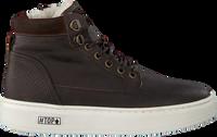 Bruine OMODA Hoge sneaker O2586  - medium