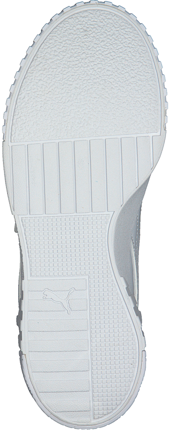 PUMA Baskets basses CALI PATENT JR en blanc  - larger