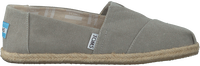 TOMS Espadrilles ALPARGATA W en gris - medium