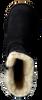 UGG Bottes fourrure KENSINGTON KIDS en noir - small