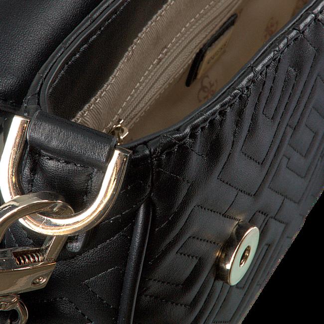 Zwarte GUESS Schoudertas BRIGHTSIDE SHOULDER BAG  - large