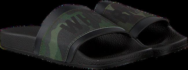 Groene THE WHITE BRAND Slippers ELASTIC MINIMAL KIDS - large