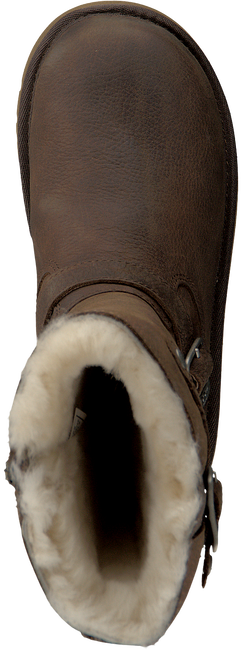 UGG Bottes fourrure KENSINGTON KIDS en marron - large