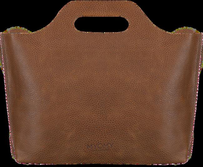 Cognac MYOMY Handtas MY CARRY BAG HANDBAG  - large