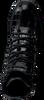 RED-RAG Bottines à lacets 74228 en noir  - small
