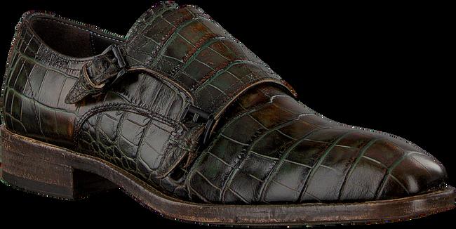 GIORGIO Richelieus HE974160 en vert  - large