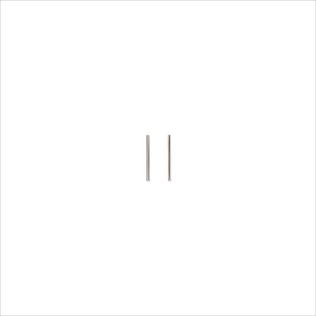 Zilveren ALLTHELUCKINTHEWORLD Oorbellen PETITE EARRINGS STRIP - large