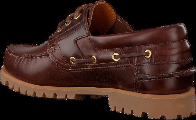 VAN BOMMEL Chaussures à lacets 1047 en marron - large