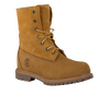 TIMBERLAND Bottillons AUTHENTICS TEDDY FLEECE en camel - small