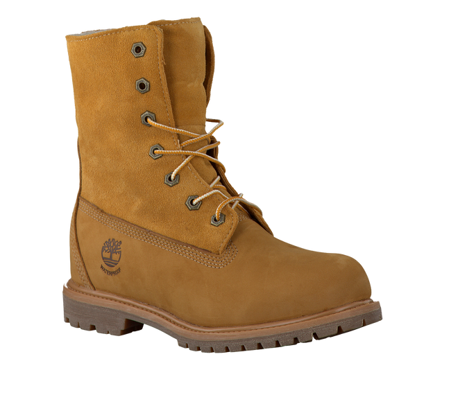 TIMBERLAND Bottillons AUTHENTICS TEDDY FLEECE en camel - large