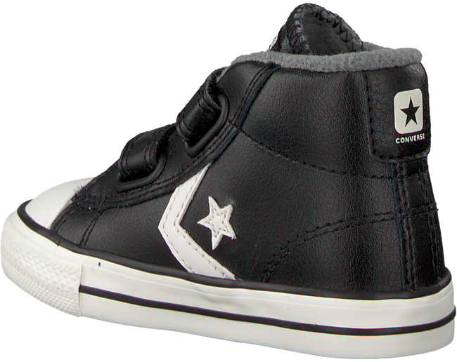 Zwarte CONVERSE Sneakers STAR PLAYER 2V MID - large
