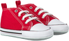 Rode CONVERSE Babyschoenen FIRST STAR  - small