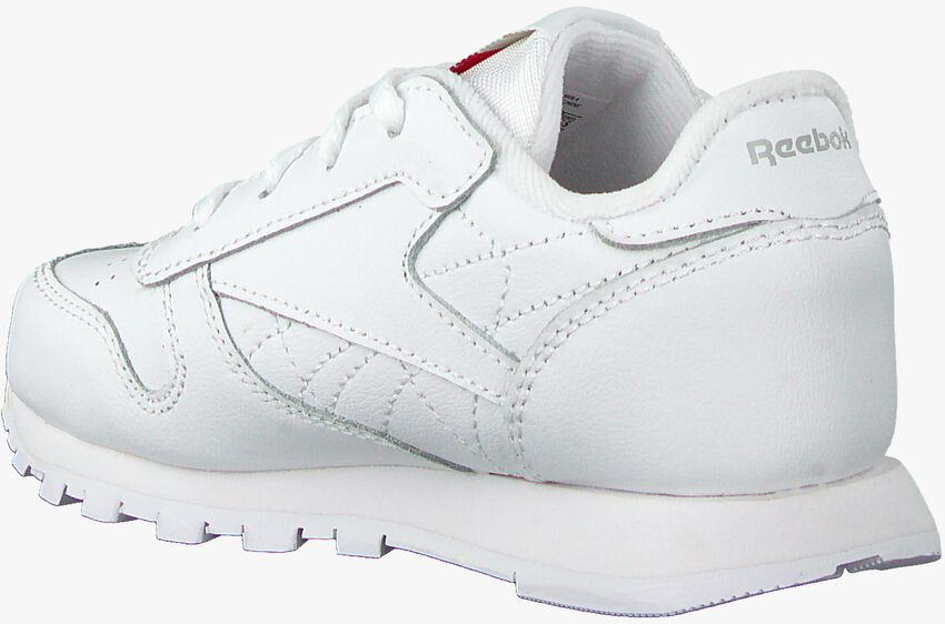 Witte REEBOK Sneakers CLASSIC LEATHER KIDS - larger