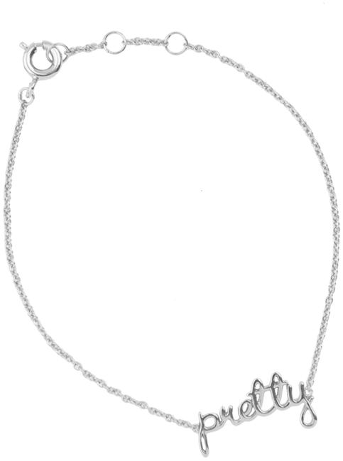 ALLTHELUCKINTHEWORLD Bracelet URBAN BRACELET PRETTY en argent - large