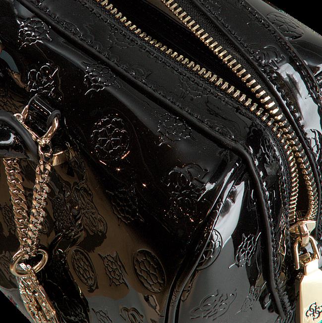 GUESS Sac à main PEONY SHINE BOX SATCHEL en noir  - large