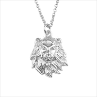 ALLTHELUCKINTHEWORLD Collier SOUVENIR NECKLACE LION en argent - medium