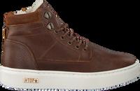 Cognac OMODA Hoge sneaker O2586  - medium