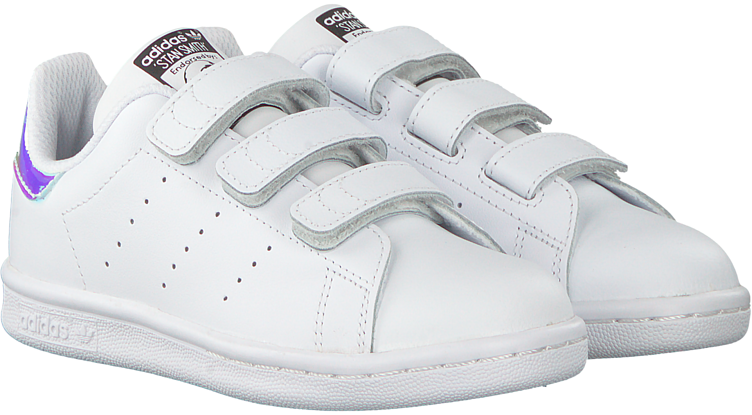 37985a2f145 Witte ADIDAS Sneakers STAN SMITH KIDS VELCRO - Omoda.be