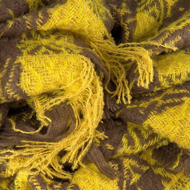 NOTRE-V Foulard CYNTHA en jaune  - large