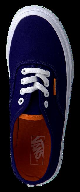 VANS Baskets K AUTHENTIC en bleu - large