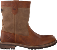 Cognac GAASTRA Enkelboots CABIN HIGH FUR - medium