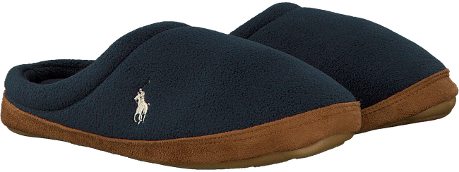Blauwe POLO RALPH LAUREN Pantoffels JACQUE SCUFF  - large