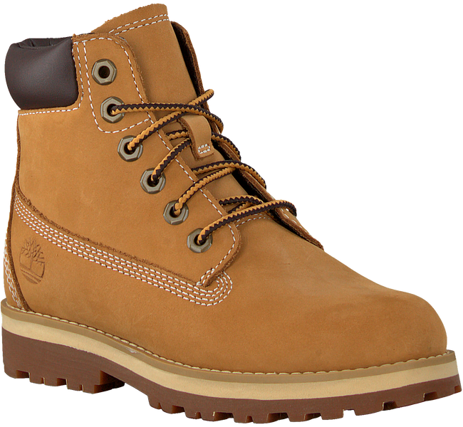 TIMBERLAND Bottines à lacets COURMA KID TRADITIONAL 6 INCH en camel  - large