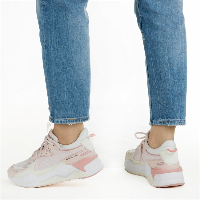Roze PUMA Sneakers RS-X TRACKS