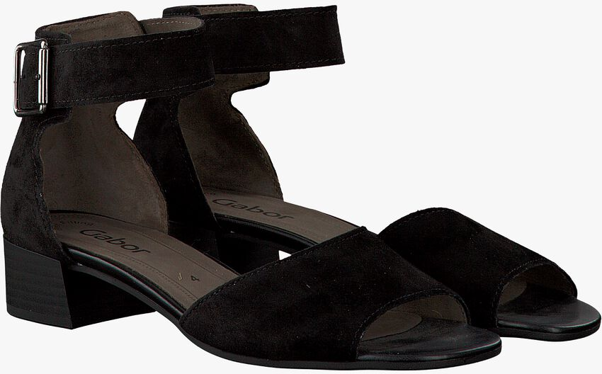 GABOR Sandales 723 en noir - larger