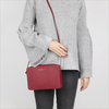 MICHAEL KORS Sac bandoulière MD EW CROSSBODY en rouge - small