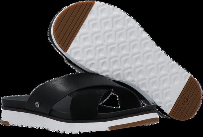 Zwarte UGG Slippers W KARI SLIDE - large