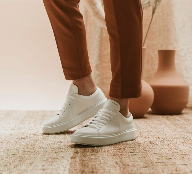 Witte COPENHAGEN STUDIOS Lage sneakers CPH407M  - large