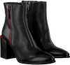 Zwarte LAURA BELLARIVA Enkellaarsjes 4127B  - small