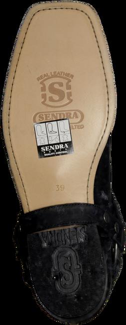 SENDRA Santiags 9077 en noir - large