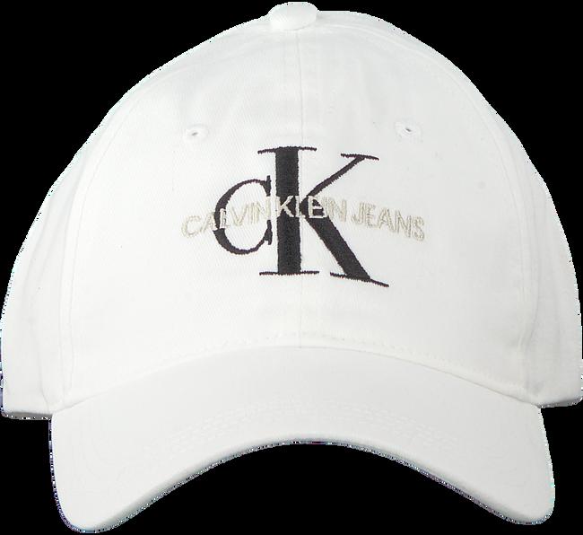 CALVIN KLEIN Casquette J MONOGRAM CAP M en blanc  - large