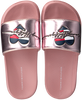 TOMMY HILFIGER Claquettes HEART PPINT POOL SLIDE en rose  - small