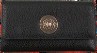 Zwarte GUESS Portemonnee BELLE ISLE SLG POCKET TRIFOLD  - medium