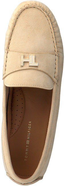 TOMMY HILFIGER Mocassins TH HARDWARE MOCASSIN en beige  - large
