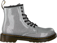 DR MARTENS Bottines à lacets 1460 GLITTER en argent  - medium