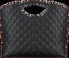 Zwarte GUESS Shopper MIRIAM SMALL SHOPPER  - small