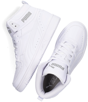Witte PUMA Hoge sneaker REBOUND JOY JR  - medium