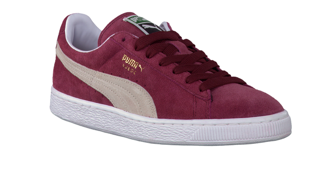 PUMA Baskets 352634 HEREN en rouge - large