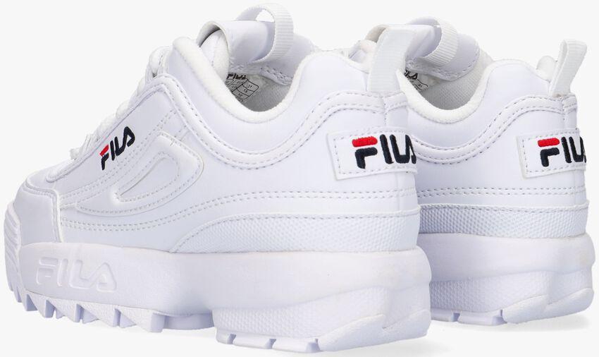 FILA Baskets 1010567 DISRUPTOR KDS en blanc - larger