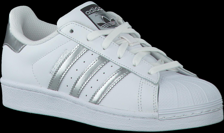 Witte ADIDAS Sneakers SUPERSTAR DAMES - Omoda.be