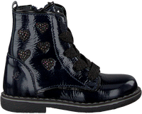 JOCHIE & FREAKS Bottines à lacets 19164 en bleu  - medium