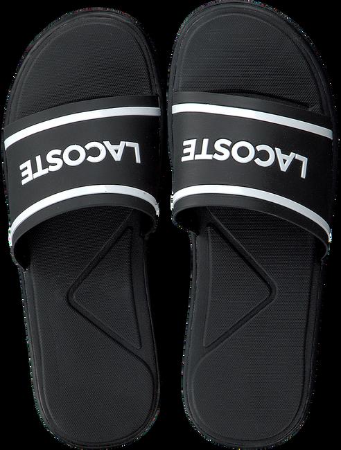 Zwarte LACOSTE Slippers L.30 SLIDE - large