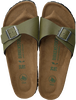 BIRKENSTOCK PAPILLIO Tongs MADRID en vert - small