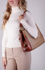 COACH Sac à main DALTON 31 SHOULDER BAG en cognac  - small