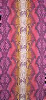 BECKSONDERGAARD Foulard SIGVA ORGANIC SCARF en rouge  - medium